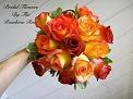 Hand-tied Mixed Roses in Elkland PA, The Rainbow Rose