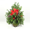 Evergreen Porch Pot in Big Rapids, Cadillac, Reed City and Canadian Lakes MI, Patterson's Flowers, Inc.