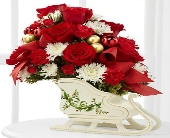 The FTD� Holiday Traditions�Bouquet - VASE INCLUDE in Highlands Ranch CO, TD Florist Designs