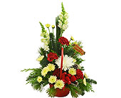 Holiday Cheer Basket in Port St Lucie FL, Flowers By Susan