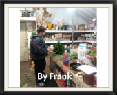 Designs by Frank in Detroit, Michigan, Chris Engel's Greenhouse