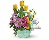Teleflora's Send a Hug Funny Bunny Bouquet in West Hempstead NY, Westminster Florist