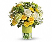 Your Sweet Smile by Teleflora in Cerritos CA, The White Lotus Florist