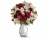 Teleflora's Crazy for You Bouquet with Red Roses in Fort Worth, Texas, Darla's Florist
