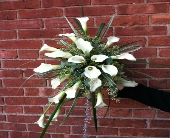 Calla Lily Bouquet in Kingston NY, Flowers by Maria