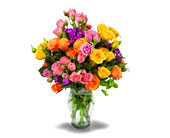Kaysville Flowers - Mini Rose Garden Bouquet - Jimmy's Flower Shop, Inc.