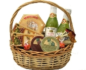 Party Gourmet Basket - Cheese & Cake in Birmingham AL, Norton's Florist