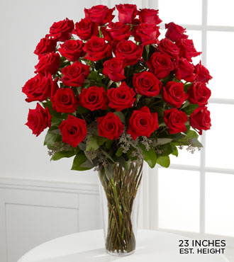 FTD-36 Long Red Stem Roses in Woodbridge VA, Lake Ridge Florist
