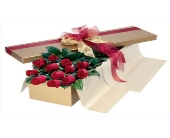 Red Roses Boxed in Scarborough ON, Helen Blakey Flowers