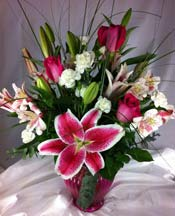 TICKLED PINK by Rubrums in Ossining NY, Rubrums Florist Ltd.