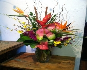 Very Tropical in Kingston, New York, Flowers by Maria