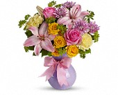 Teleflora's Perfectly Pastel in Watertown NY, Sherwood Florist