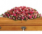 A Life Loved Casket Spray in Benton KY, Woods Florist