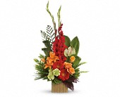 Heart's Companion Bouquet by Teleflora in Edmonton AB, Petals For Less Ltd.