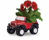 Teleflora's Freewheelin' Jeep Wrangler in Bothell WA, The Bothell Florist