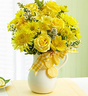 1800 Flowers- Make Lemonade in a Pitcher in Woodbridge VA, Lake Ridge Florist