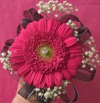 Wristlet and boutonniere in Pell City AL, Pell City Flower & Gift Shop
