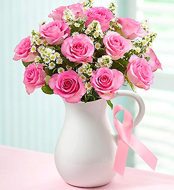 1800 Flowers- The Pink Ribbon Bouquet in Woodbridge VA, Lake Ridge Florist