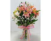 Raleigh Flowers - Awesome Alstromeria - Gingerbread House Florist