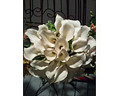Calla-Lilly-Bridal-Bouquet in Toms River, New Jersey, John's Riverside Florist