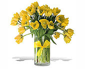 Spring-Tulips--Premium-Yellow in San Clemente CA, Beach City Florist