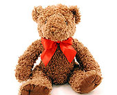 Brown-Teddy-Bear in San Clemente CA, Beach City Florist