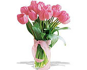 Spring-Tulips--Deluxe-Light-Pink--Deluxe in San Clemente CA, Beach City Florist