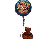 Birthday-Bear in San Clemente CA, Beach City Florist
