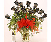 Black-Roses in San Clemente CA, Beach City Florist