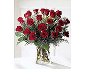 24 REDD LONG STEM ROSES  PERFECT LOVE in San Clemente CA, Beach City Florist