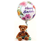 Happy-Birthday-Teddy in San Clemente CA, Beach City Florist