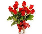 Get-Shorty-Red-Dozen in San Clemente CA, Beach City Florist