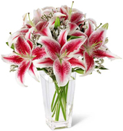 Pink Lily Bouquet in Nationwide MI, Wesley Berry Florist, Inc.
