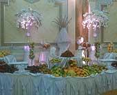 Wedding-Reception-Table in Woodland Hills, California, Abbey's Flower Garden