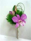 Orchid Boutonniere in Belleville ON, Live, Love and Laugh Flowers, Antiques and Gifts
