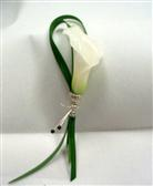 Mini Calla Lily Boutonniere in Belleville ON, Live, Love and Laugh Flowers, Antiques and Gifts