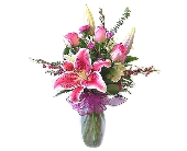 Stargazers and Roses in Bend OR, All Occasion Flowers & Gifts