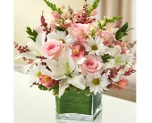 Healing Tears - Pink and White in Watertown CT, Agnew Florist
