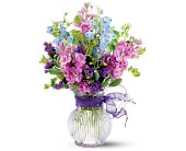 Ft Lauderdale Flowers - Teleflora's Lavender Pitcher Bouquet - Deerfield Florist