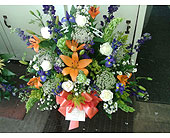 Custom Funeral Arrangement in Staunton, Virginia, Rask Florist, Inc.
