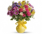 Teleflora's Color It Happy in Rush NY, Chase's Greenhouse