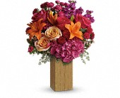 New York Flowers - Teleflora's Fuchsia Fantasy - Rose Red & Lavender