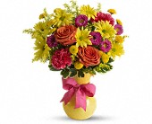 Teleflora's Hooray-diant! in Oklahoma City OK, Array of Flowers & Gifts