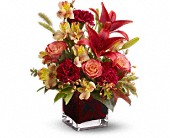 Teleflora's Indian Summer in Ormond Beach FL, Simply Roses