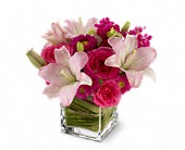 Teleflora's Posh Pinks in Oshawa ON, The Wallflower Boutique