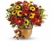 Teleflora's Send a Hug Squirrel Away Bouquet, picture
