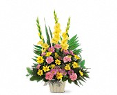 Warm Thoughts Arrangement in Marshalltown, Iowa, Lowe's Flowers, LLC