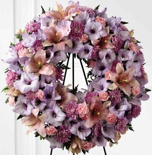 FTD� Sleep in Peace� Wreath in Nationwide MI, Wesley Berry Florist, Inc.