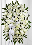 FTD� Exquisite Tribute� Standing Spray in Nationwide MI, Wesley Berry Florist, Inc.