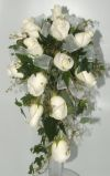 Cascade Bridal Bouquet in Salisbury, Maryland, Kitty's Flowers